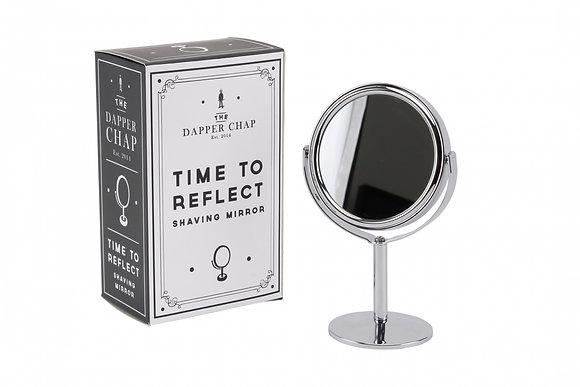 Dapper Chap Time To Reflect Shaving Mirror