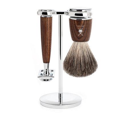 MÜHLE RYTMO - Shaving set (Ash)