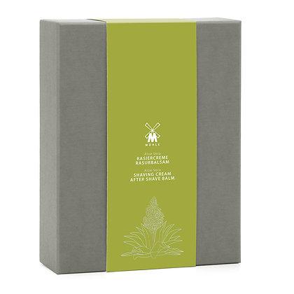 MÜHLE SHAVE CARE -Aloe Vera Set - Incl. Shaving Cream & Aftershave