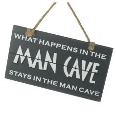 What Happens in Man Cave Sign
