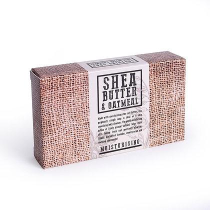 Moisturising Shea Butter and Oatmeal Soap 120g
