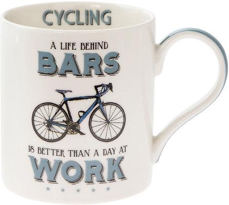 Comical Cycling Mug