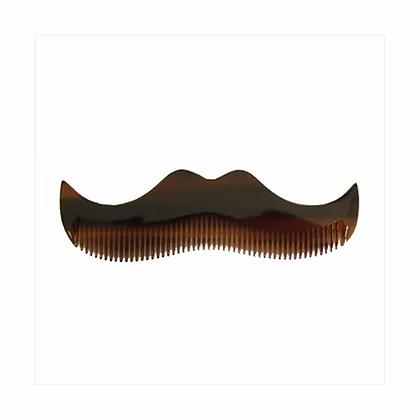 Morgan's Moustache Comb - Amber