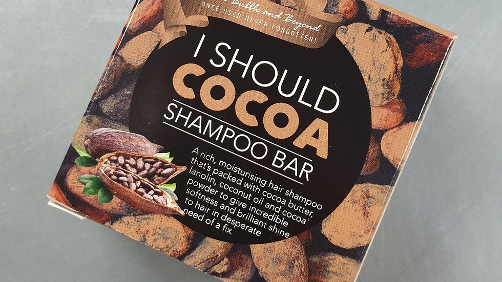 I Should Cocoa Shampoo Bar 50g