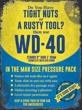 A Rusty Tool? Metal Sign