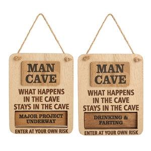 Man Cave Rotating sign