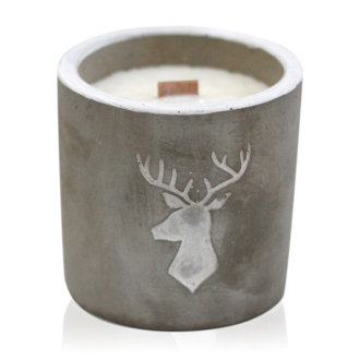 Stag Head - Whisky & Woodsmoke Candle
