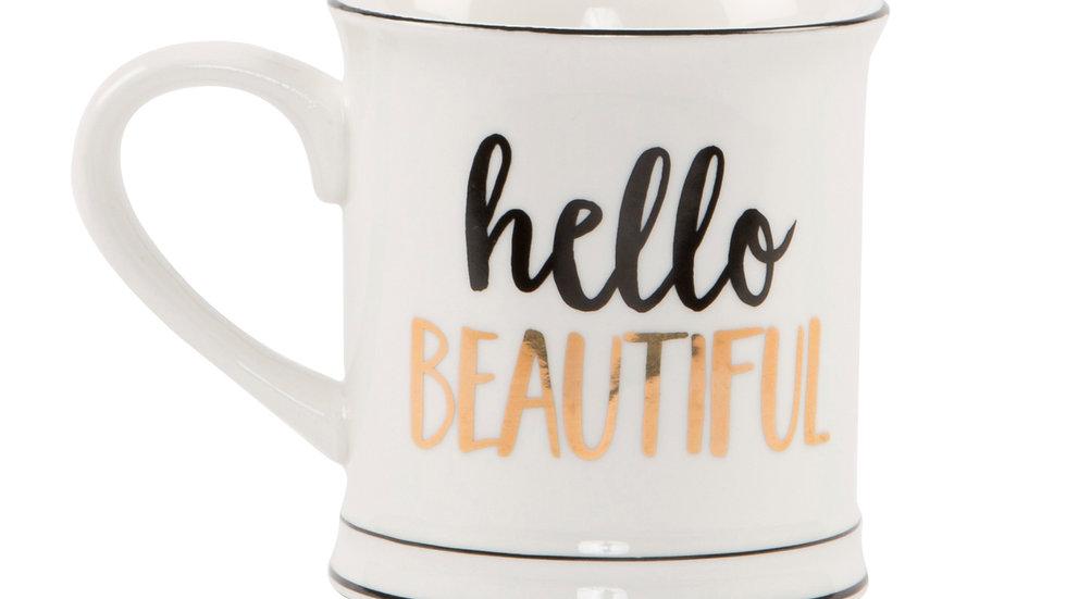 Hello Beautiful Ceramic Mug