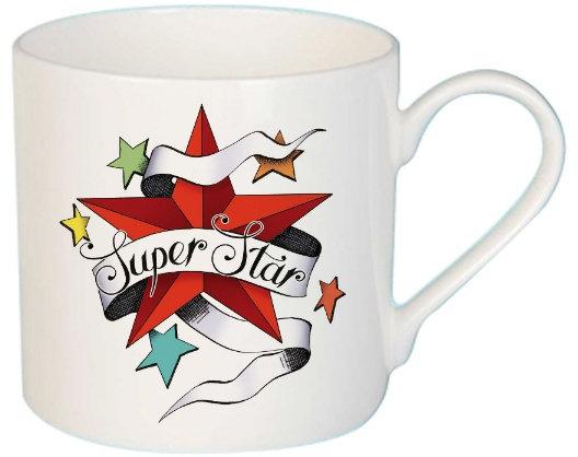 Super Star Tattoo Mug