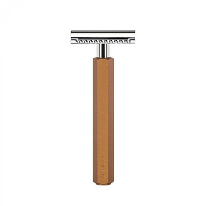 RHXGBRONZESR MÜHLE HEXAGON Bronze Safety Razor