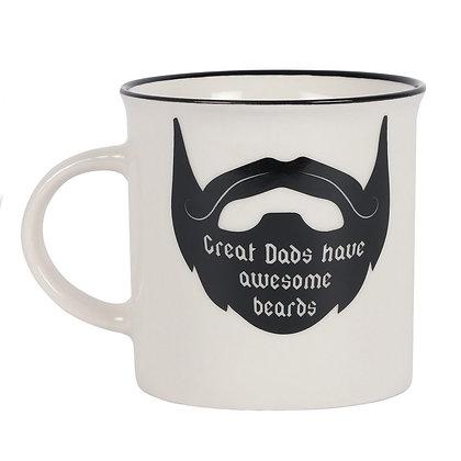 Dad's Beard Ceramic Mug