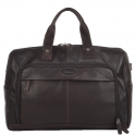 Ashwood Mayfair Chocolate Leather Holdall
