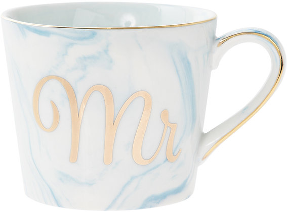 Blue Marble Effect Mr Mug