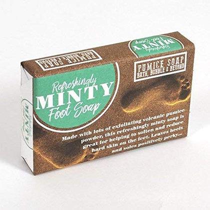 Minty Foot Pumice Soap 120g