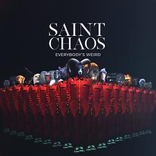 Saint Chaos - Everybody's Weird - Artwor