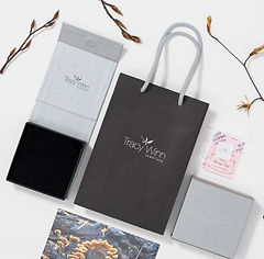 Gift packaging for Tracy Winn Jewellery