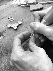 Tracy Winn Jewellery: In the studio