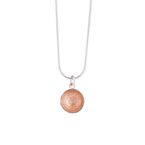 Rose Gold Plated Acorn Cup Necklace