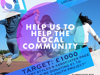 HELP US HELP THE LOCAL COMMUNITY