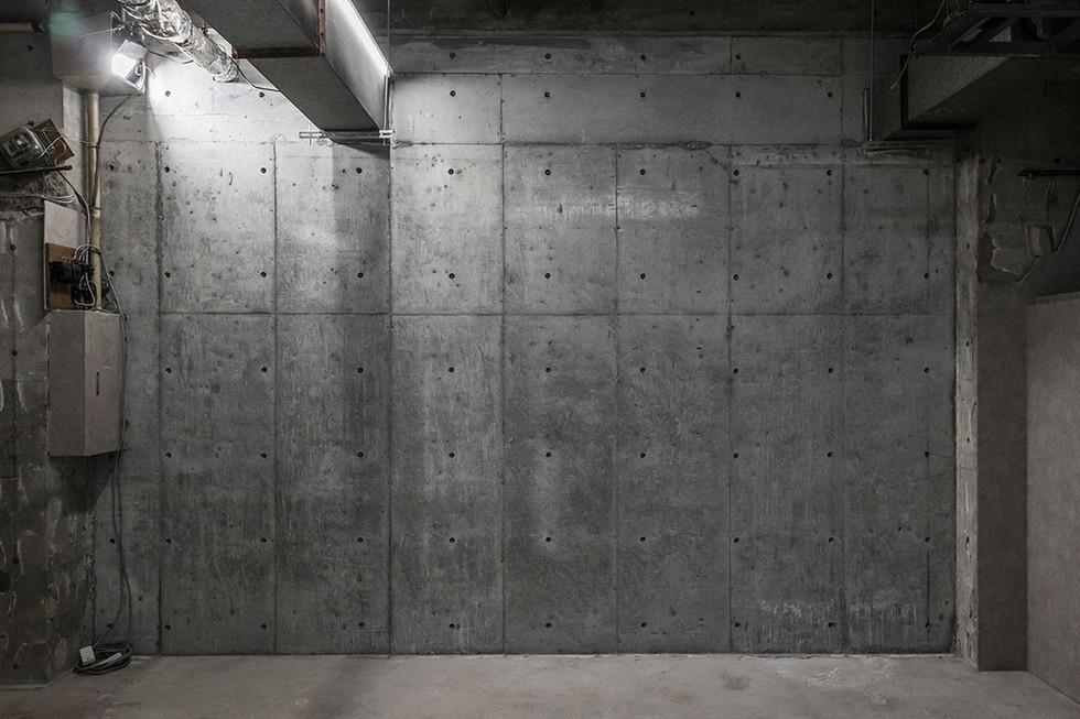 E コンクリート壁