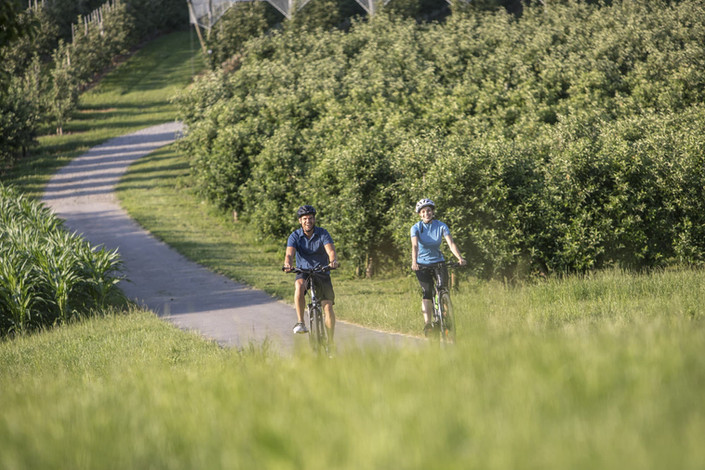 Fahrrad fahren in Lindau ( Kunde_ Landra