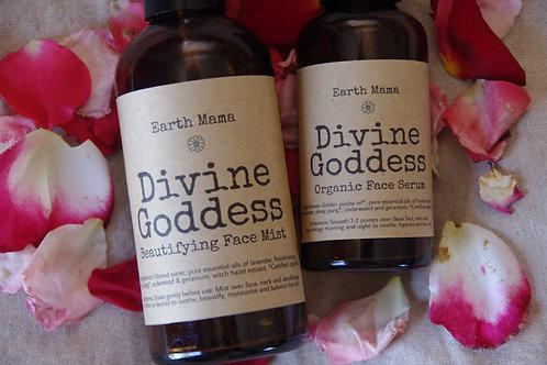 Divine Goddess Organic Skincare Duo