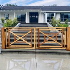 Custom Design X Fence