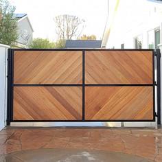 Custom Design Driveway Gate