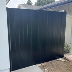 Custom Flat Top Gate Painted Black