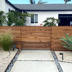 Horizontal Gate and Fence - Short