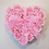 Thumbnail: Heart Shaped Box of 24 Soap Flower