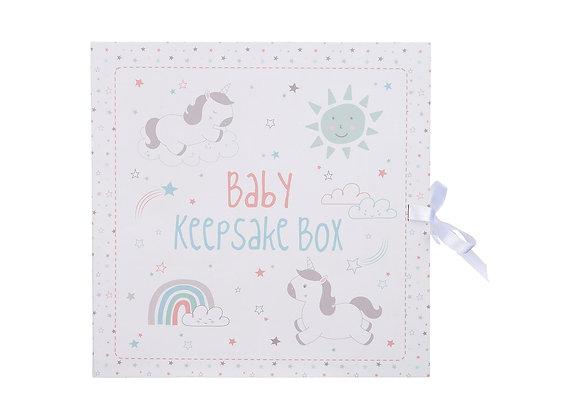 Baby Unicorn Keepsake Box