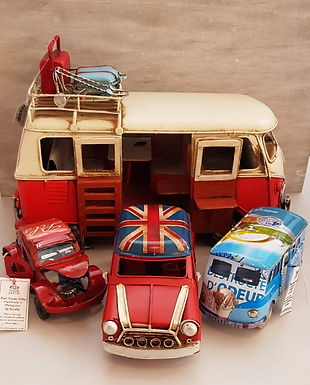 Vintage and Recycled Model Vehicles