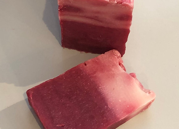 Very Berry Hand Crafted Soap Slice