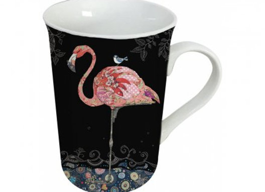 Bug Art Flamingo Mug