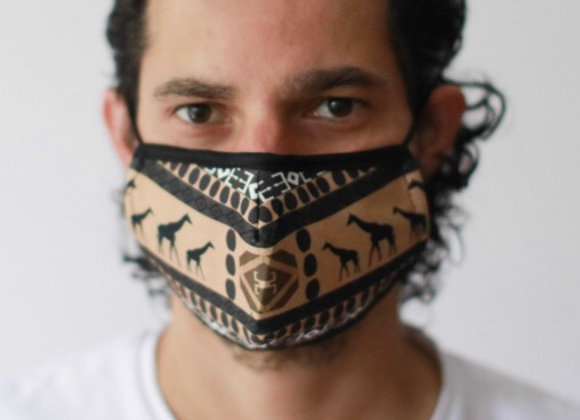 African Tribal Unisex Fashion Face Covering