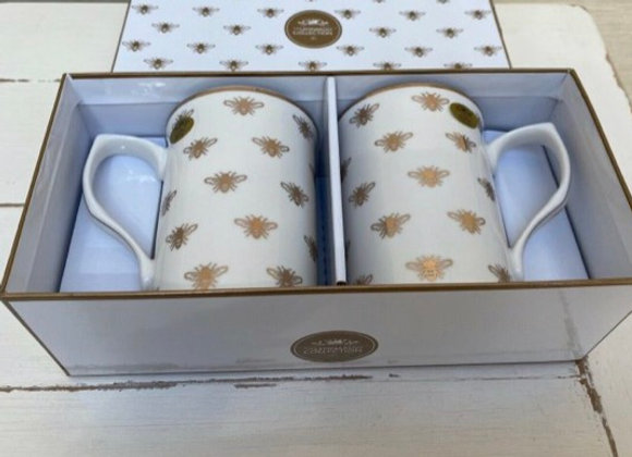 Golden Bee Mug Gift Box
