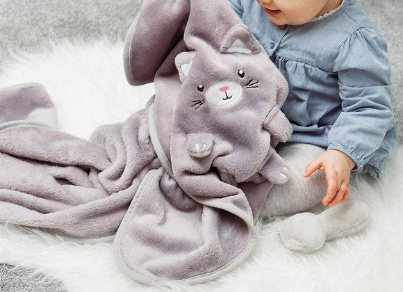 Kitty Cat Baby Blanket