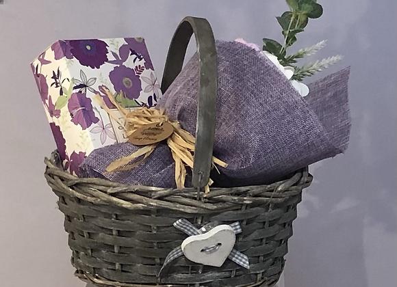 Trug Floral Gift Basket