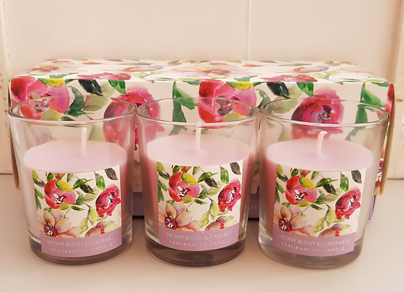 Floral Scented Candles Gift Box