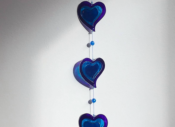 String of Hearts Sun Catcher