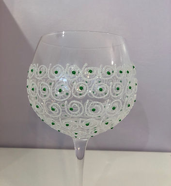 Hand Decorated and Novelty Glasses