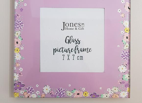 Florella Glass Photo Frame