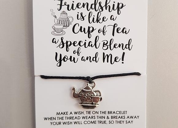 Teapot Charm Bracelet