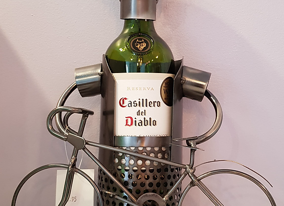 Cyclist Metal Bottle Holder