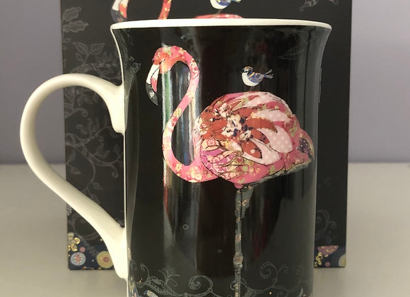 Flamingo Fine China Mug