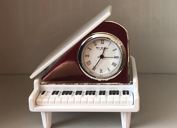 Grand Piano Novelty Clock