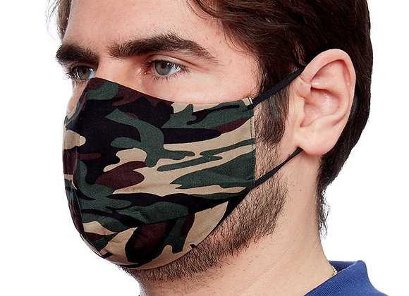 Camouflage Unisex Fashion Face Covering