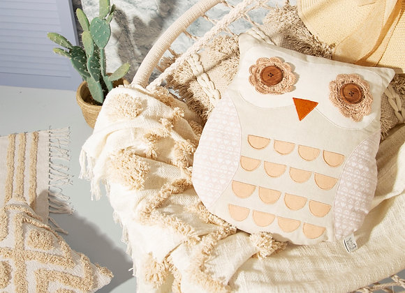 Maya Owl Cushion