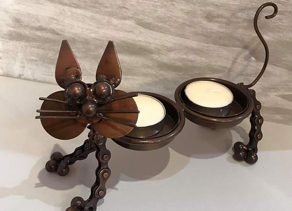 Cat Tea Light Holder
